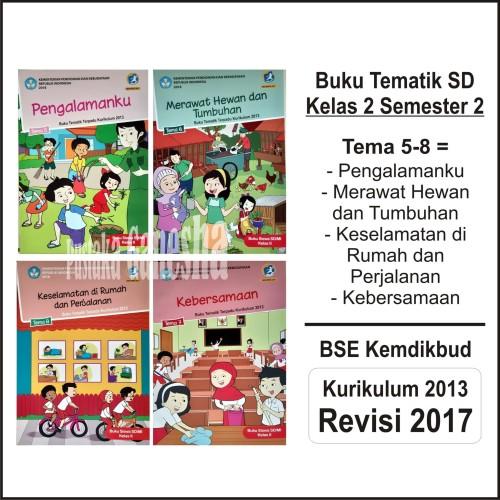 Foto Produk Tematik SD Kelas 2 Tema 5 6 7 8 Buku Siswa Depdikbud Revisi Semester 2 dari Pustaka Ganesha