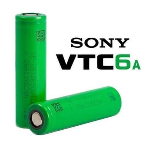 Foto Produk VTC 6A Sony Vape Battery 3000mAh 18650 - 100% Authentic Baterai Sony dari JakartaVapers