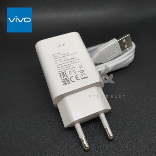 Foto Produk Charger VIVO V5S V7 V7+ Plus V9 Y53 Y71 Y83 Y91 Y91C Y93 Y95 Y15 Y12 dari KyleandKley2