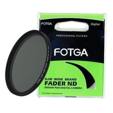 Foto Produk Fotga Variable ND Filter 46mm 49mm 52mm Slim Fader ND 2 To ND 400 - Ukuran 49mm dari Johnnie