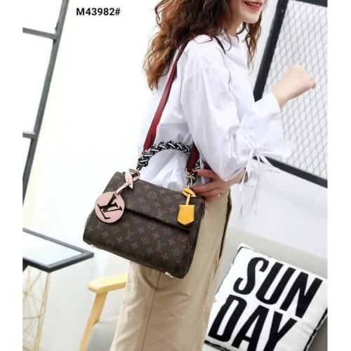 Foto Produk SALE ! LV Cluny Top Handle M43982| Tas Wanita Cantik | Tas Import Mura dari official bag store
