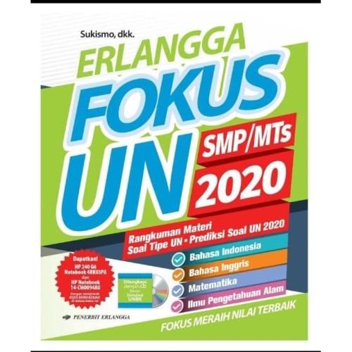 Jual Baru Buku Un Smp Erlangga Fokus Un Smp Mts 2020 Kab Bekasi Gedebook Shop Tokopedia