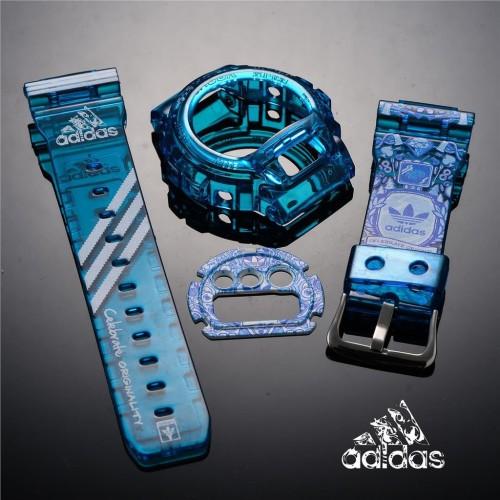 Memorizar Equipo capacidad  Jual Bezel Strap Adidas BnB untuk G-Shock DW-6900 - Jakarta Barat - KmShopp  | Tokopedia