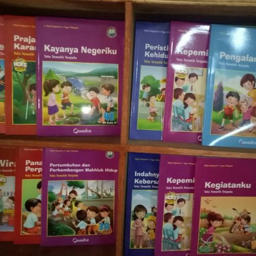 Foto Produk buku siswa tematik k13 kelas 1 sampe 6 semester 1 dan 2 penerbt quadra dari wahanaagung depok books