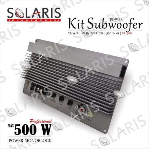 Foto Produk POWER MONOBLOCK 500 Watt RMS FL-500 KIT POWER dari Solaris Electronic