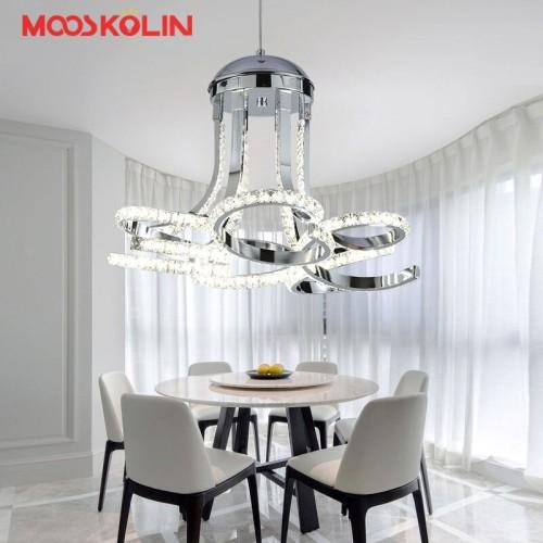 Jual Import Modern Led Crystal Chandelier Lights Lamp For Dining Room Kota Semarang Market Ailsa Tokopedia