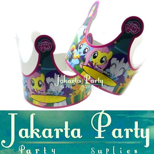 Foto Produk Topi Ultah Mahkota Little Pony / Topi Ultah / Topi Ulang Tahun dari Jakarta Party