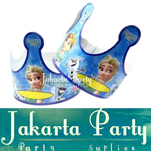 Foto Produk Topi Ultah Mahkota Frozen / Topi Ultah Frozen / Topi Ulang Tahun dari Jakarta Party