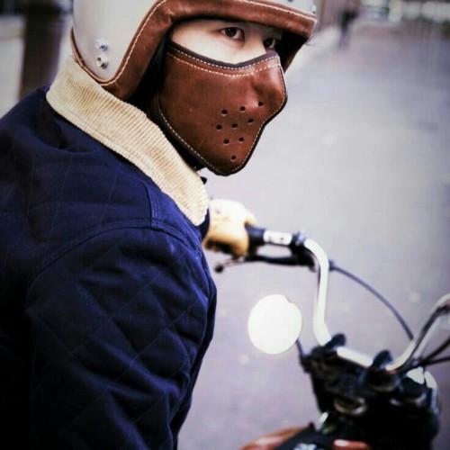 Jual Masker Motor, Masker Motor full kulit - Kab. Garut ...