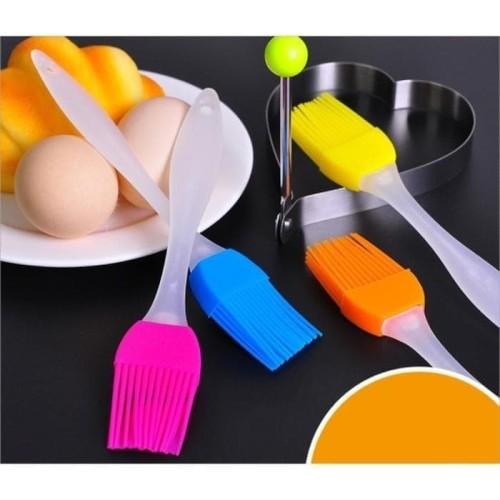 Foto Produk Kuas Silikon Untuk Roti / food brush silicone cake mentega dari AnerStore
