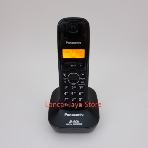 Foto Produk Whirless panasonic KX-TG3411 (Black) dari Lancar Jaya Store