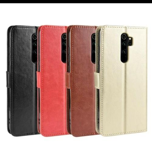 Foto Produk Casing Hp Kulit PU Magnetik Wallet Untuk Oppo A5 2020 - Merah dari good_price store 2