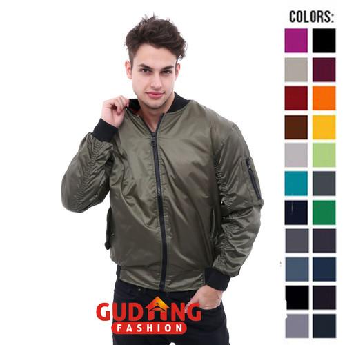Foto Produk Jaket Bomber Pria Distro JAK 2246 - Hijau dari Gudang Fashion