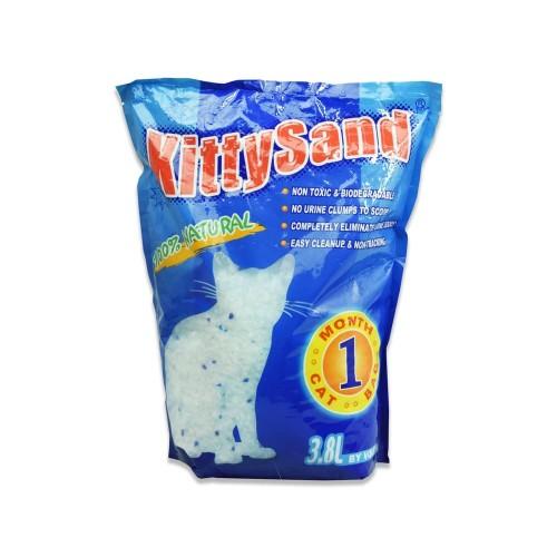 Foto Produk Pasir Kucing Kristal 3.8 liter Merk Kitty Sand dari toy house