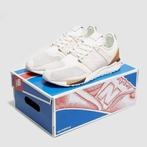 Jual New Balance 247 Leather Luxe White - Jakarta Selatan - Emir Shoes   Tokopedia