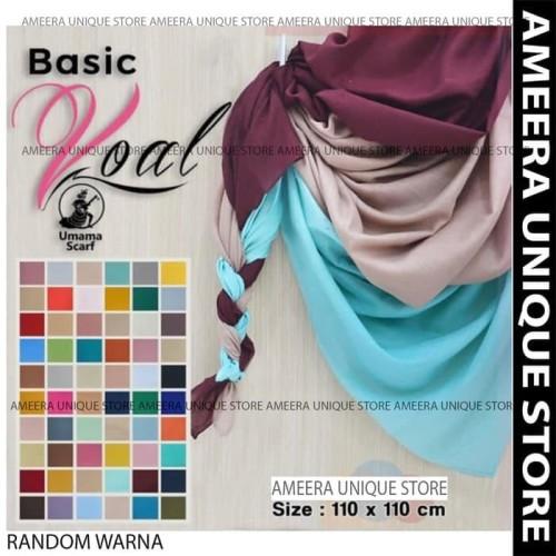 Foto Produk Basic Voal Polos Umama Jilbab Hijab Keudung Scarf Segi Empat Segiempat dari AArriess