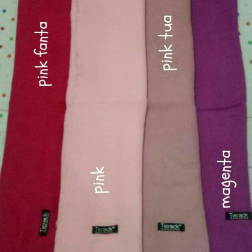 Foto Produk Hijab Kerudung Jilbab Segiempat Tierack Segi 4 120Cmx120Cm Polos dari AArriess