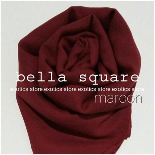 Foto Produk Jilbab Segiempat Bella Square Daily Hijab Poly Cotton dari AArriess