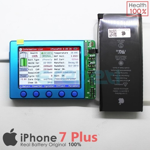 Foto Produk BATTERY BATERAI BATERE IPHONE 7+ 7PLUS ORIGINAL KD-001284 dari EREDETI
