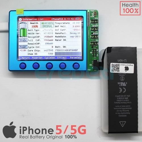 Foto Produk BATTERY BATERAI BATERE IPHONE 5 IPHONE 5G ORIGINAL KD-002196 dari EREDETI