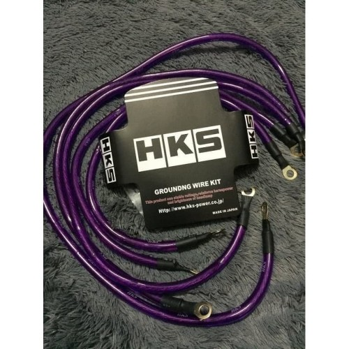 Foto Produk Kabel Grounding HKS - HKS Grounding wire kits dari Wijaya co