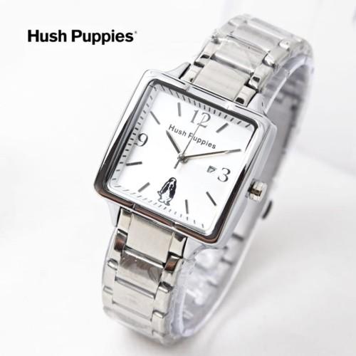 Foto Produk jam tangan HUSH PUPPIES WANITA KOTAK RANTAI SILVER ROSE BLACK BLUE dari Multyshop MSI