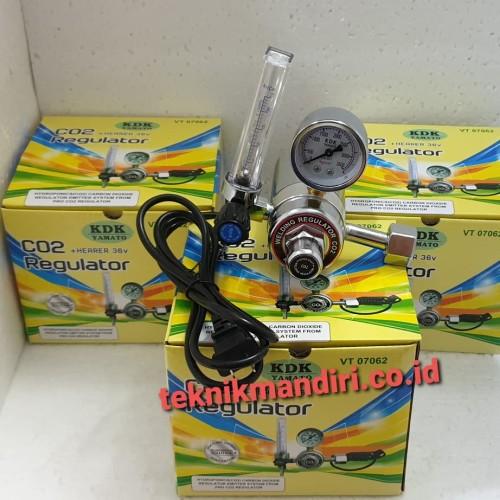 Foto Produk Regulator Co2 + Heater KDK dari Teknik Mandiri indo