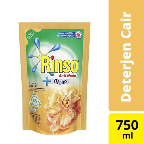 Foto Produk Rinso Molto Deterjen Cair Royal Gold 750 Ml dari Unilever Official Store