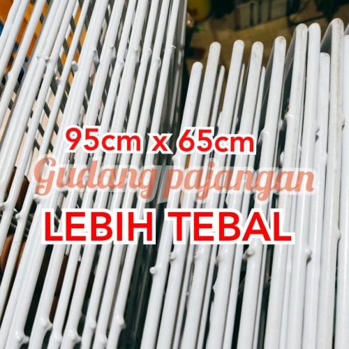 Foto Produk Ram Kawat Pajangan 95cm x 65cm LEBIH TEBAL dari Gudang Pajangan