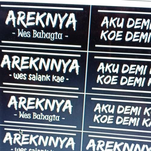 Jual Stiker Custom Satuan Kota Surabaya Arcomp Store Tokopedia