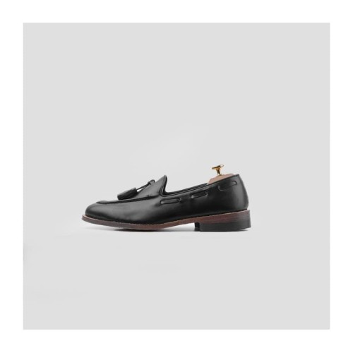 Foto Produk Portee Goods Loafers Slippers Black - 42, Hitam dari portee goods