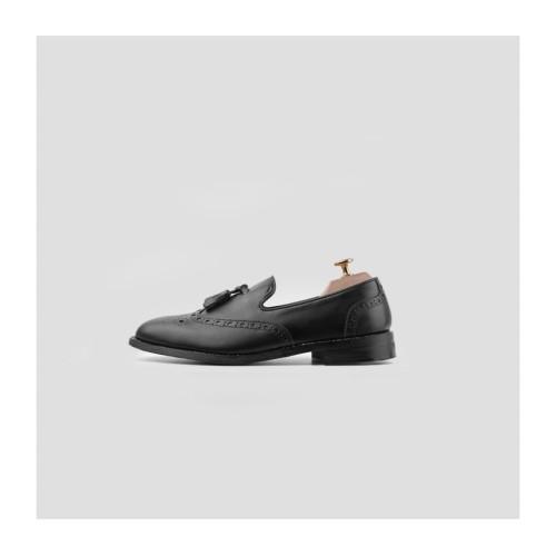 Foto Produk Portee Goods Loafers Wing Tip Black - 41 dari portee goods