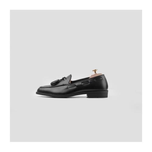 Foto Produk Loafers Slippers L.I.F.E Series Black - Size, 41 dari portee goods