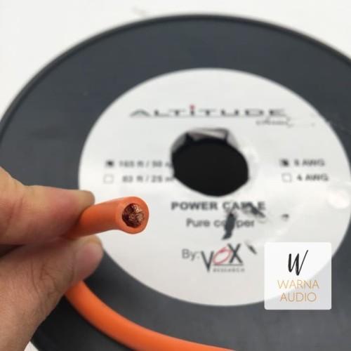 Foto Produk Kabel Power Altitude by Vox Research 8 AWG Murni Pure Copper dari Warna Audio