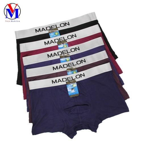 Foto Produk Celana Dalam Pria Boxer Madelon Art 8896 - Maroon, XL dari VAYA MADELON