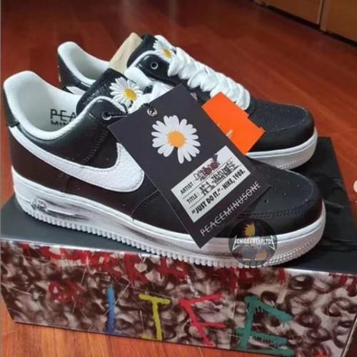 Isla de Alcatraz compensación Empeorando  Jual Peaceminusone x Nike Air Force 1 CUSTOM MADE BY GD GODS VERSION 1:1 -  Hitam, 38 - Kota Medan - ChiggawearLtd | Tokopedia