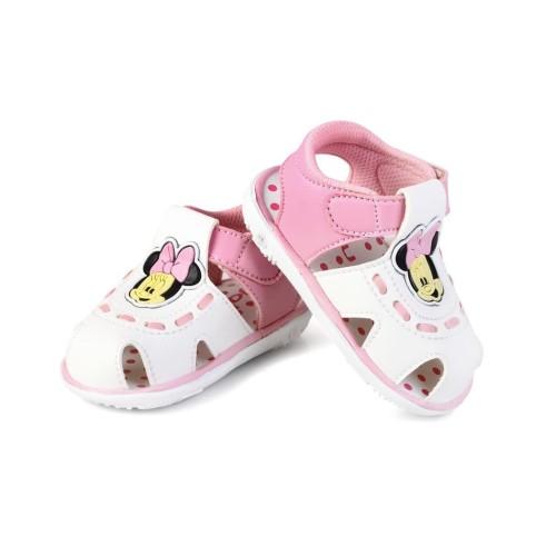 Foto Produk C12 sepatu sandal anak perempuan unik bunyi cit usia 1 2 tahun - 23, PINK dari Syalu Shoes