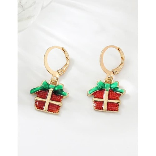 Foto Produk LRC Anting Tusuk Fashion Gift Color Cartoon Christmas Earrings D27983 dari Toko Aksesoris Online