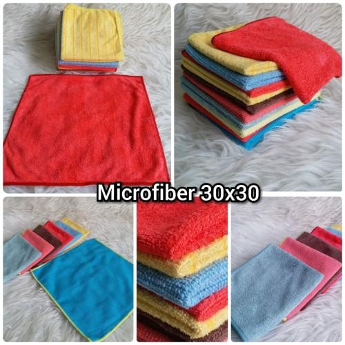 Foto Produk kain lap microfiber / kain lap serbaguna dari jay acc