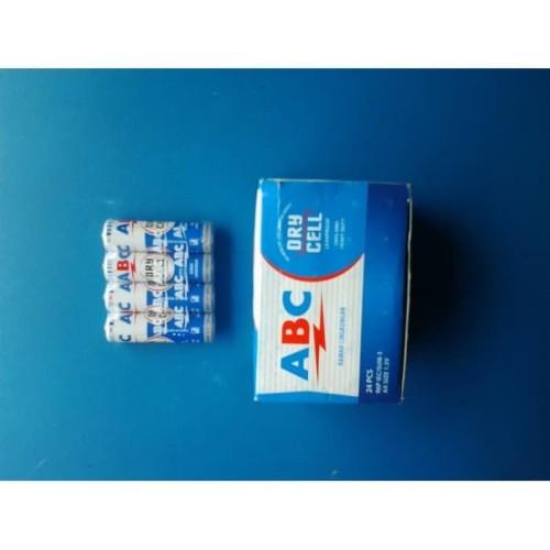 Foto Produk BATERAI ABC BIRU AA/ BATTERY ABC BIRU A2 | ISI 24 PCS dari Luxindo Official