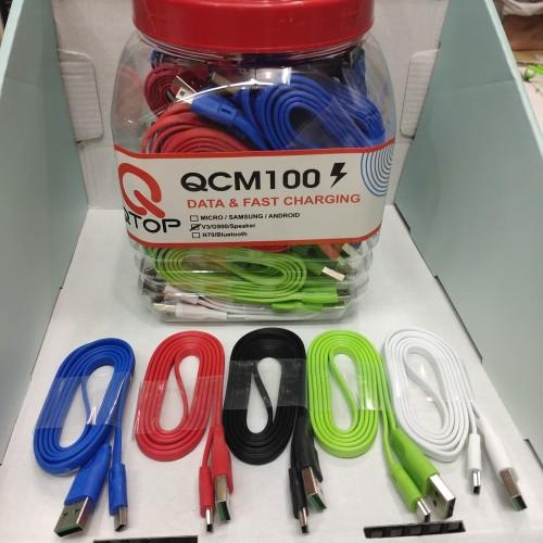 Foto Produk Kabel data Qtop G900 for Esia Kabel Charger Qtop Esia Kabel Casan Qtop dari vivan cell