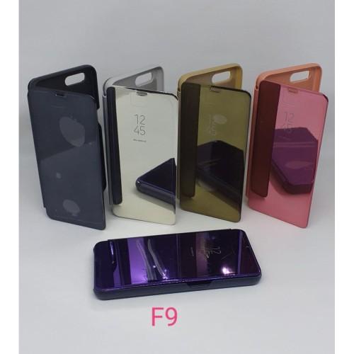 Foto Produk Flip Cover Clear View Type OPPO F9 dari Grosir Murah AccHp
