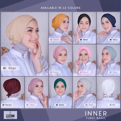 Foto Produk Ciput ORIGINAL / Dalaman Hijab Turki ORI - Beidge dari LAPAK HIJAB MARET