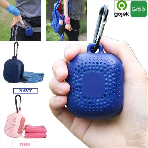 Foto Produk Handuk dingin Olahraga Gym Travel Microfiber Quick dry Magic Towel - Navy dari toko25jam