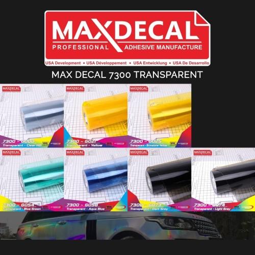 Jual Skotlet Transparan Max Decal Stiker Gloss Hibrit Motor Murah Roll Jakarta Pusat Dunia Warna Stiker Tokopedia