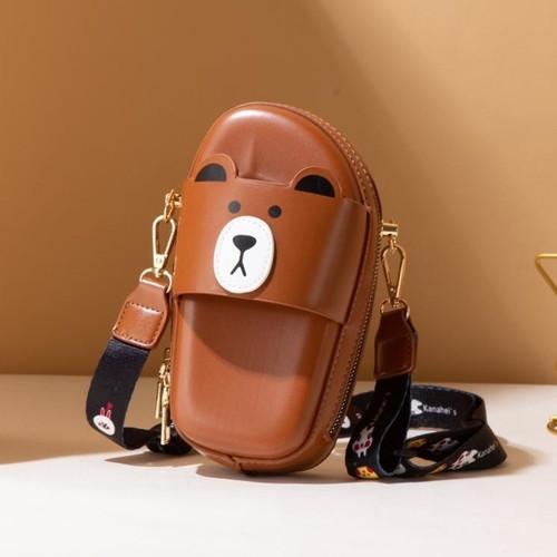 Foto Produk Jims Honey - Sally Mini Bag Tas Wanita Sling Bag - Cokelat dari JIMS HONEY OFFICIAL