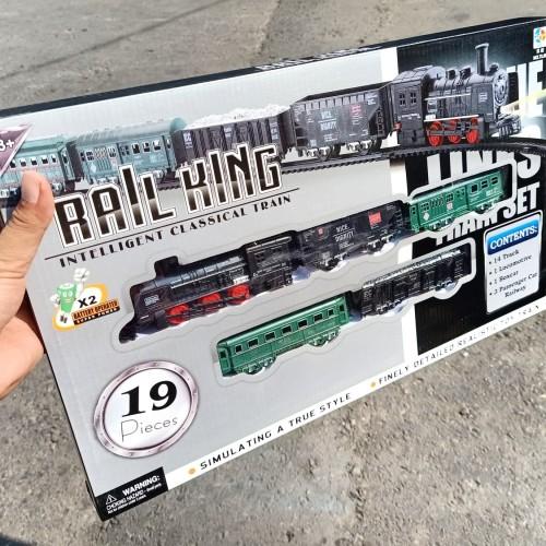 Foto Produk mainan kereta api raill king besar dari wahana toys