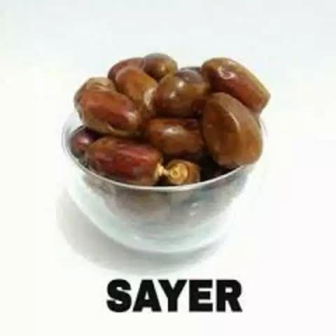 Foto Produk Kurma Sayer Alsaad Al saad kemasan 1kg 1 kg murah dari Mahira_storee