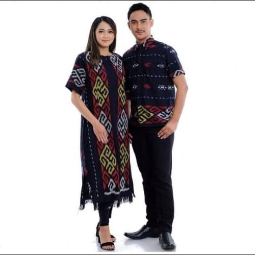 Jual Baju Tenun Couple Stelan Tenun Ikat Troso Kemeja Tenun Pi 8 Kab Jepara Tenun Troso Assyafa Tokopedia