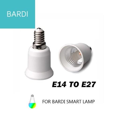 Foto Produk Converter Fitting E14 to E27 for Bardi Smart Bulb dari Bardi Solusi Otomasi